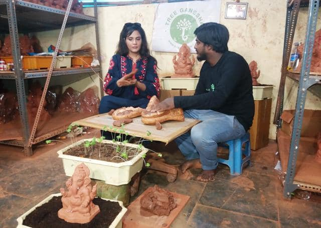Saddens Me To See The State Of The Environment: Richa Chadha Joins Cause For Making Eco-Friendly Idols