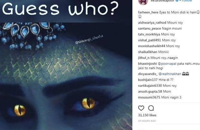 Ekta Kapoor asks fans to guess new Naagin in Instagram post: Mouni Roy and Adaa will not return