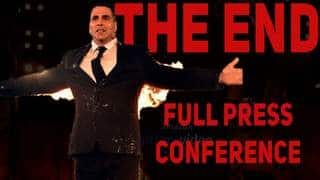THE END Akshay Kumar Announces His Web Series | Full Press Conferences |