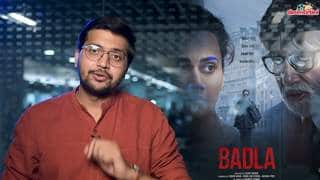 Badla Movie Review | Amitabh Bachchan | Taapsee Pannu | Sujoy Ghosh