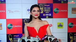 Deepika Padukone Talks About Her Upcoming Movie Chhapaak Zee Cine Awards 2019