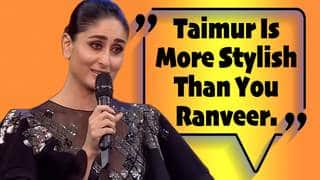 Kareena Kapoor Accepts India's Most Stylish Award On Behalf Of Taimur Ali Khan