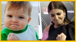 Funny: Anushka Sharma Recreates Famous Internet Memes