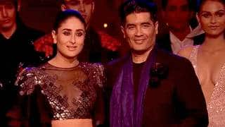 Kareena Turns Show Stopper For Manish Malhotra At HT Most Stylish Awards