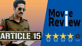 ARTICLE 15 Movie Review - Anubhav Sinha, Ayushmann Khurrana, Sayani Gupta, Isha Talwar