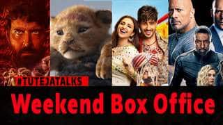 WEEKEND BOX OFFICE - Jabairya Jodi, The Lion King, Fast & Furious Presents: Hobbs & Shaw and Super 30