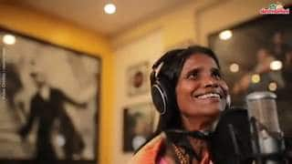 Ranu Mondal Records Another Song With Himesh, Video Will Leave You Speechless