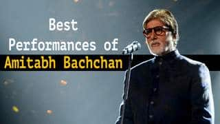 8 Best Performances of Big B Amitabh Bachchan