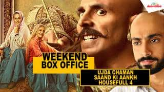 Weekend Box Office - Ujda Chaman, Saand Ki Aankh, Housefull 4 #TutejaTalks