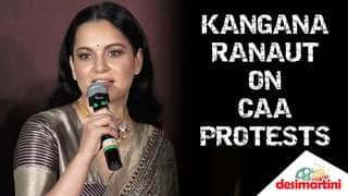 Kangana Ranaut On CAA Protests: Don't Be A Sore Loser, What Gives You The Right To Burn Buses?