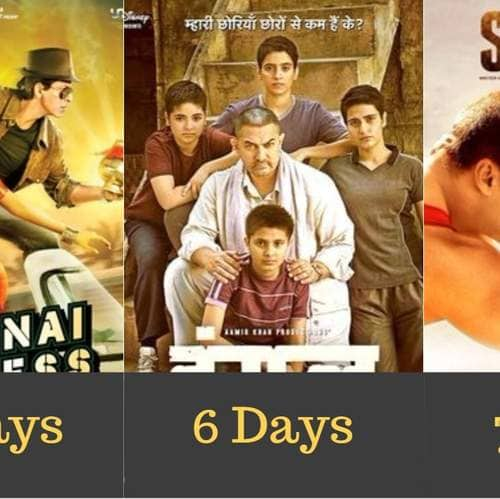 Gallery- In Pics: 12 Bollywood Blockbusters And The Number Of Days They Took To Cross 200 Crores