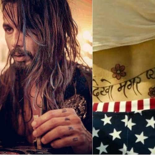Gallery- 12 Iconic Bollywood Tattoos That Stars Sported For A Film