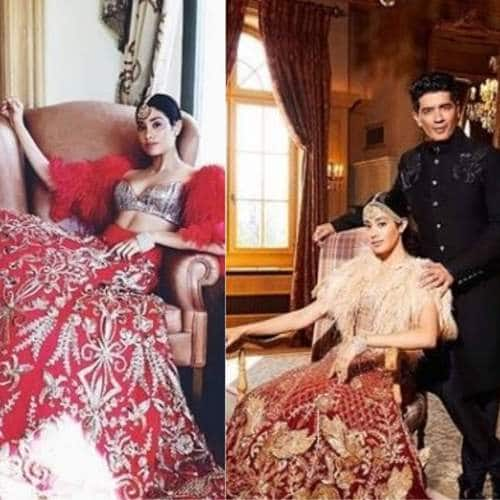 Jhanvi Kapoor, Manish Malhotra Couture And Switzerland Will Make Your Breath Stop