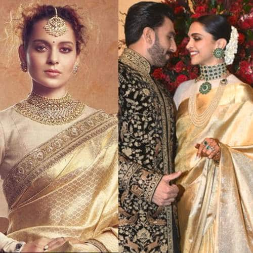 Deepveer Wedding: Here's All The Celebs That Deepika's Bangalore Reception Look Reminded Us Of!