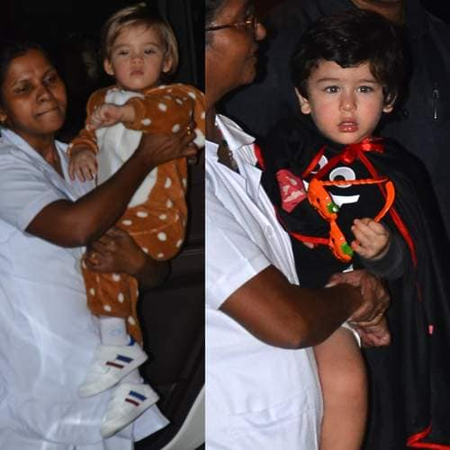 Celebs Kids Looks Adorable As They Turn Up For Ahil Sharma's Halloween Party Hosted By Mom Arpita!