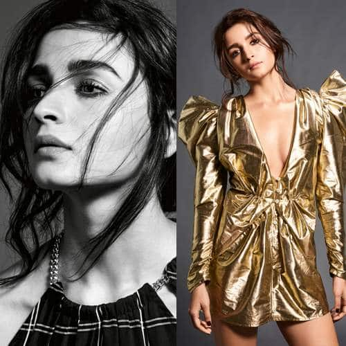 Alia Bhatt Brings On Her Blingy Avatar For The Photoshoot Of A Popular Magazine!