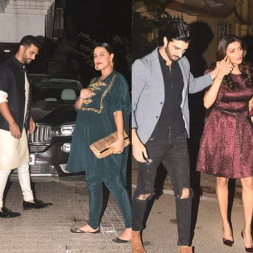 In Pictures: Sushmita-Rohman, Kim Sharma-Harshvardhan And More Couples Add Glam To This Diwali Party!