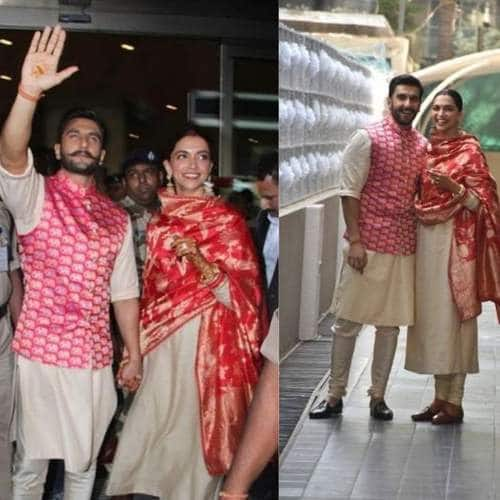 IN PICTURES: Deepika And Ranveer Singh Melts Our Heart As They Reach Mumbai Post Their Wedding