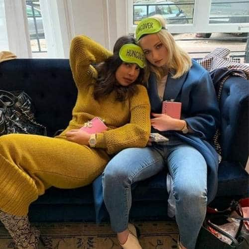 Jonas Bahus Priyanka Chopra And Sophie Turner Are The New BFFs In  Town