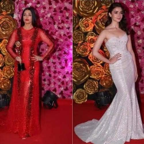 Bollywood And TV Celebs Make Head Turn At The Lux Golden Rose Awards 2018 Red Carpet