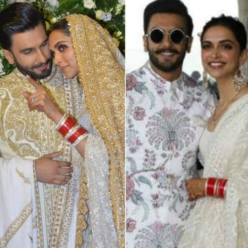From the Initial Days Of Dating To Their Mumbai Reception, Twinning In White Has Been A Constant For DeepVeer