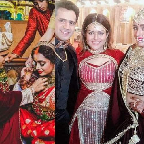 Check Out The Unseen Pictures From Parul Chauhan And Chirag Thakkar's Reception And Marriage Ceremony!