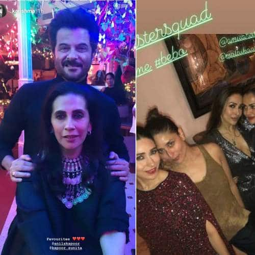 Close Friends And Family Makes Anil Kapoor's Birthday A Stylish Star Studded Event