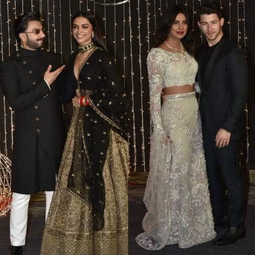 In Pictures: Bollywood Celebs Add Glam To Priyanka Chopra And Nick Jonas' Wedding Reception!