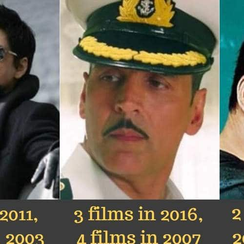 Gallery- 15 Bollywood Actors Whose All Releases In A Year Were Successful At The Box Office