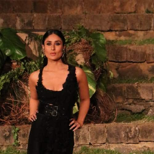Gallery- Kareena Kapoor Khan Looks Glamorous In Black As She Walks For Anamika Khanna At LFW!
