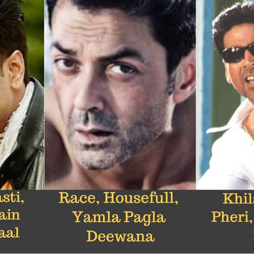 Gallery- 15 Popular Bollywood Actors And The Number Of Franchises They Are Associated With