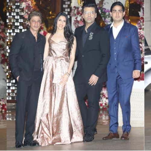 Gallery- In Pictures: SRK, Katrina, Karan Johar And Other Bollywood Celebs At Akash Ambani's Engagement Bash!