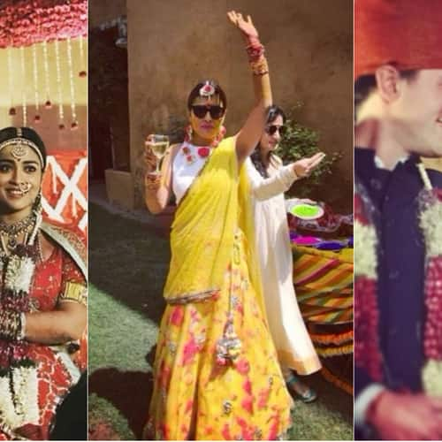 Gallery- In Pics: Shriya Saran Gets Married To Andrei Koscheev In A Traditional Ceremony