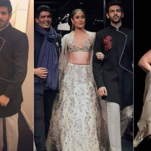 Gallery- Kareena Kapoor Khan And Kartik Aaryan Set The Ramp On Fire For Manish Malhotra's Fashion Show In Singapore