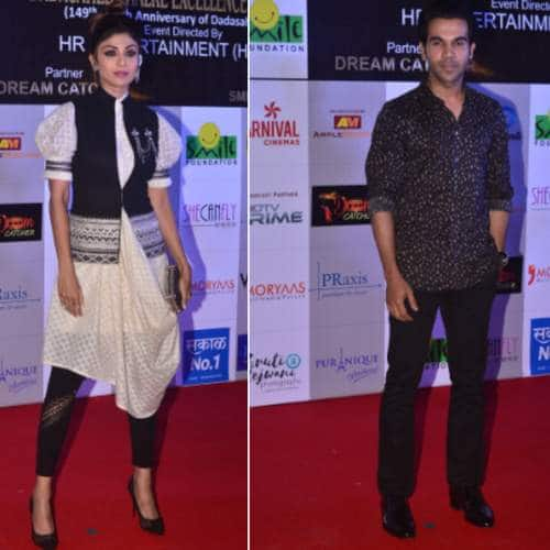 Gallery- What's Wrong With Our Bollywood And TV Celebs On The Red Carpet Of Dada Saheb Excellence Award?