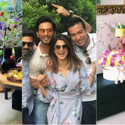Gallery- Jennifer Winget, Krystle D'Souza and Erica Fernandes Celebrate Easter With Their Family & Friends