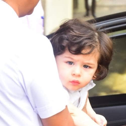 Gallery- Taimur Ali Khan Spotted Post Play School And He Loves The Shutterbugs