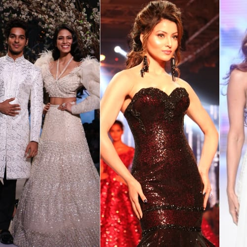 Gallery- Bollywood Celebs Walk The Ramp At Bombay Times Fashion Week 2018