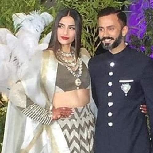 Gallery- In Pictures: Bollywood Celebs Wish Sonam Kapoor Ahuja And Anand Ahuja At Their Wedding Reception!