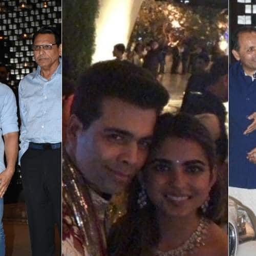 Gallery- SRK And Aamir Khan Add To The Glamour Quotient At Isha Ambani's Engagement Bash
