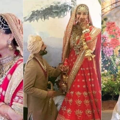 sonam kapoor and anand ahujas best moments from their wedding and reception will make you go aww