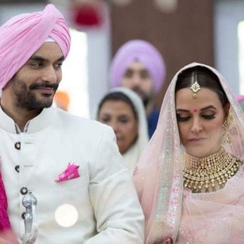 angad bedi and neha dhupia dropped enough hints we just did not pick it up