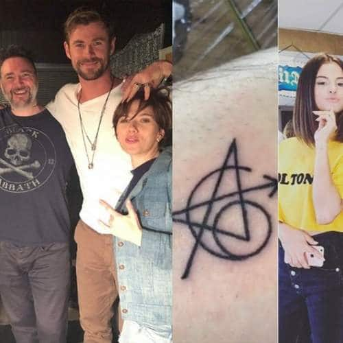 hollywood star cast who got matching tattoos