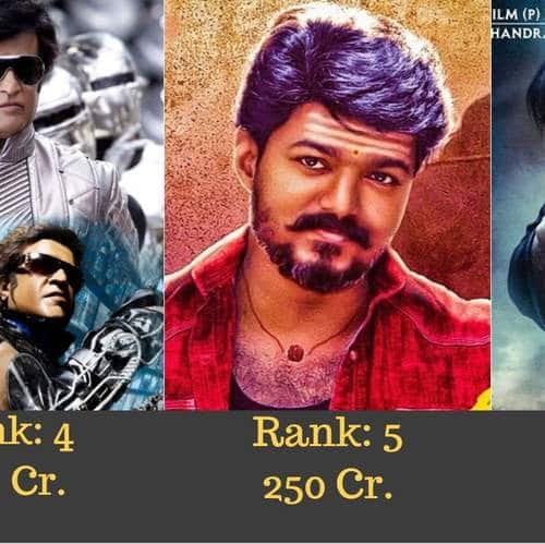 here are the all time highest grossing south indian movies