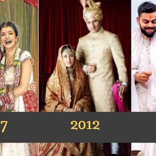 Gallery- Here Are The Biggest And Most Glamorous Weddings That Bollywood Has Seen In The Last 15 Years