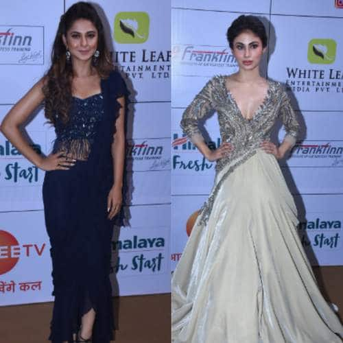TV Celebs Shined Bright On The Red Carpet Of Gold Awards. Some Though Shined A Little Too Much