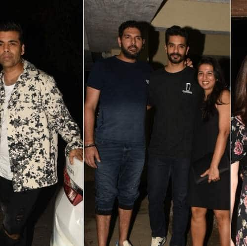 Bollywood And Cricket Make For A Perfect Combo At Neha Dhupia's Dinner Party