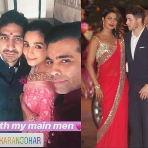 In Pictures: KJo, SRK, Alia-Ranbir Makes Heads Turn At Akash Ambani And Shlok Mehta's Engagement Bash!