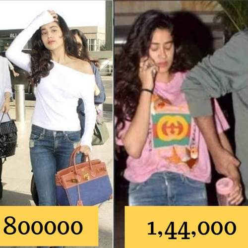 These Casual Looks Of Jahnvi Kapoor Are More Expensive Than Your Wildest Imagination