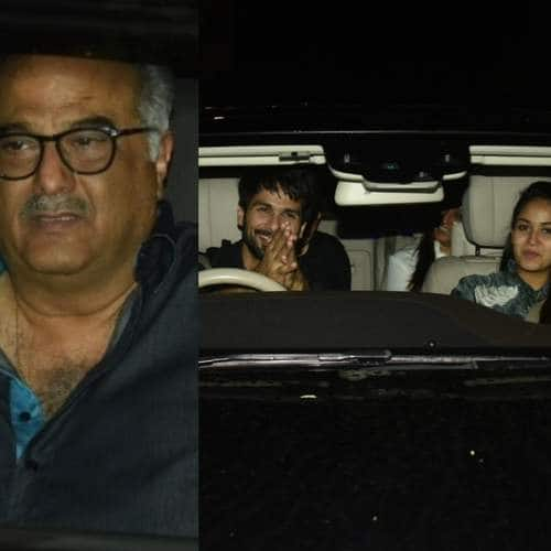 Shahid, Mira, Arjun Kapoor Come To Support Ishaan-Janhvi At The Special Screening Of Dhadak!